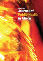 Journal of Public Health in Africa: How the circumcision solution in Africa will increase HIV infections